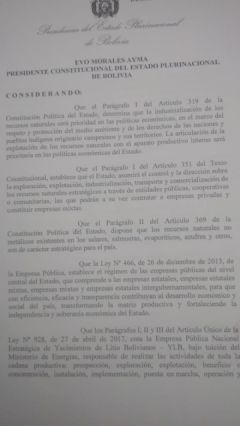 El texto del documento.