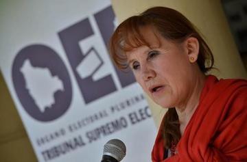 Expresidenta del TSE solicita procesar a los vocales de Chuquisaca