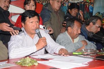 """Comcipo lamenta """"las risas"""" de Evo por las demandas de Potosí"""