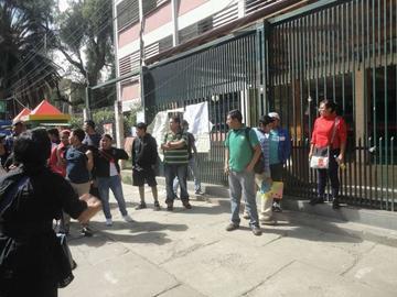 Siguen cerradas las puertas de la Universidad San Simon Simón
