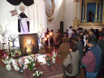 Habrá misa para Santo Domingo