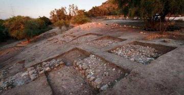 Investigadores hallan restos de Gat  donde habitaba el gigante Goliat