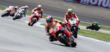Márquez es el más rápido en MotoGP