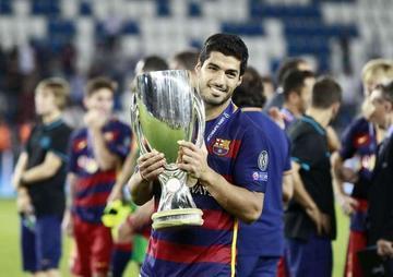Messi, Cristiano y Suárez son los finalistas
