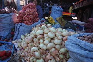 Los mercados reciben una gran cantidad de alimentos
