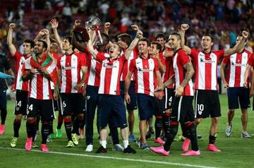 Athletic gana su segunda Supercopa de España