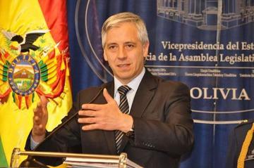 García Linera dice que las regiones serán inversionistas