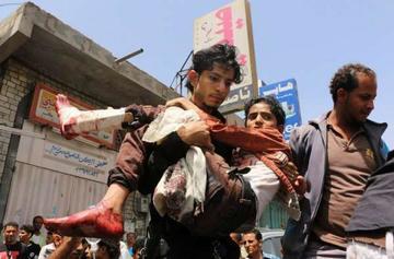 Los bombardeos en Yemen dejan 43 personas muertas