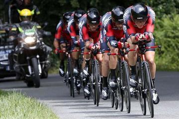 El BMC gana el crono inaugural de la Vuelta a España