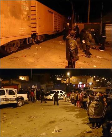 Hombre muere arrollado por vagones de tren de carga