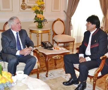 Informe antidroga tensiona las  relaciones entre Bolivia y EE.UU.