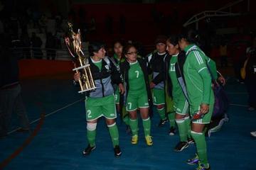 La Paz se corona campeón del torneo nacional de futsal