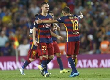 Vermaelen le da la victoria al conjunto de Barcelona