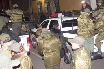 La Policía restablece operativos del Plan Chachapuma en Potosí