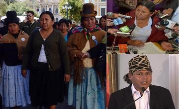Nemesia Achacollo renuncia a su cargo como ministra de Morales