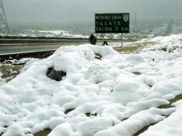 Anuncian nevadas en poblaciones potosinas