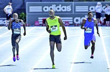 Bolt abandona la carrera en Bélgica