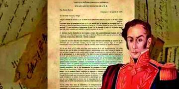 La Unasur presentará histórica carta de Bolívar