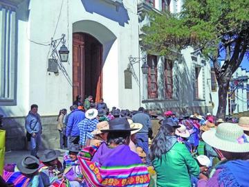 Los pobladores de Manquiri piden atención a demandas
