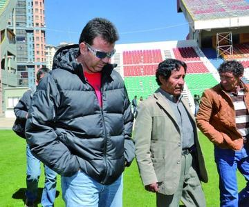 Bolivia trabajará 14 días antes de jugar con Uruguay
