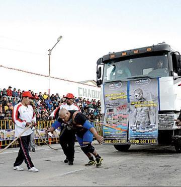 Ratifican a Potosí como sede del mundial del hombre más fuerte