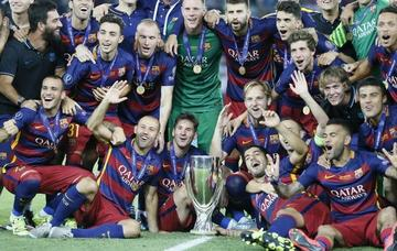 Barcelona logra la Supercopa
