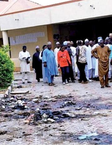 Fuerte explosión en mercado de Nigeria causa 50 fallecidos