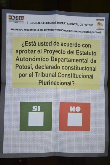 Campaña por referendo ingresa a la recta final en 5 regiones del país