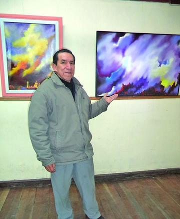 Abre la exposición pictórica de Cristóbal Corso Cruz