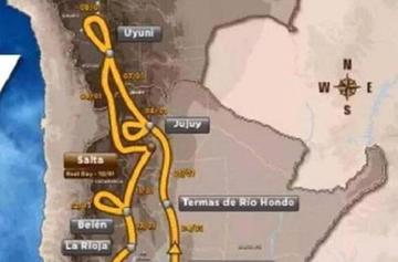 Potosí es confirmada para el Dakar 2016 según publicación de la ASO