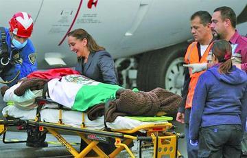 México aún demanda justicia a Egipto tras repatriar a heridos