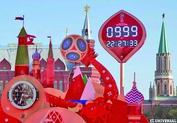 Faltan 999 días para Rusia 2018