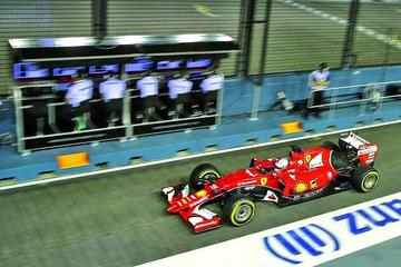 Vettel sale primero en el Gran Premio de  Singapur