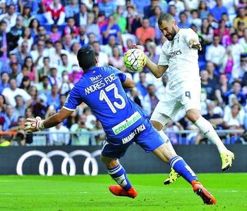 Benzema le da la victoria a Madrid