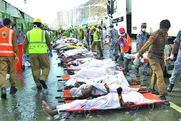 Estampida en La Meca provoca la muerte de más de 700 personas