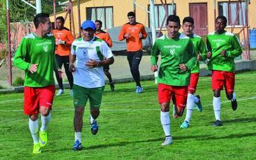 La selección nacional trabaja enfocada en Uruguay