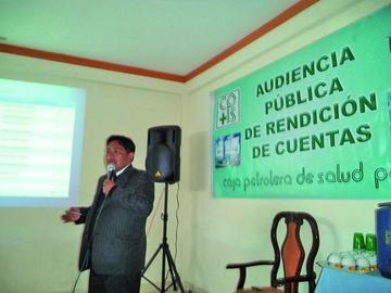 La Caja Petrolera de Salud prevé la entrega de infraestructura en 2016
