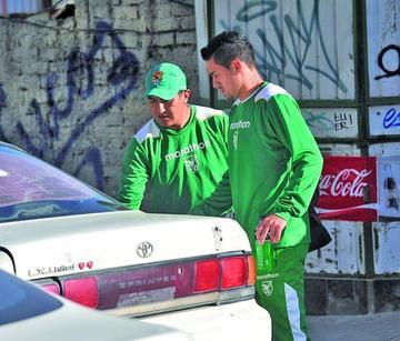 Ramallo termina lesionado en la práctica de Bolivia