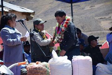 Gobernación da su apoyo a afectados por desastres