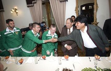 """Morales: """"Si clasifican les daré lo que ustedes pidan"""""""