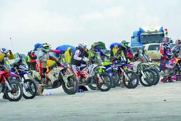 ASO verifica el trazado del Dakar