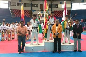 Bolivia manda en el Sudamericano de Karate con 12 medallas de oro