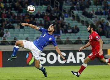 Italia se anota en la Eurocopa
