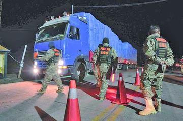 Continúa operativo en vías de Potosí
