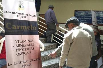 """Potosí: Inauguran entrega del suplemento nutricional """"Carmelo"""" para adultos mayores"""