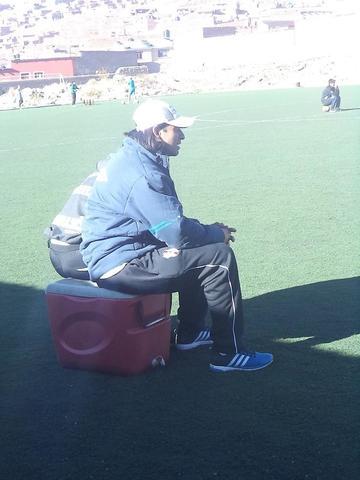 Yadin Salazar se suma a las prácticas hoy