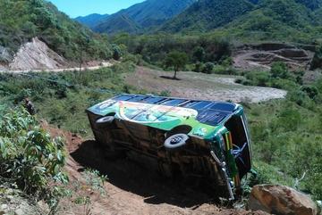 Chuquisaca: Accidente de flota cerca de Monteagudo deja dos personas fallecidas