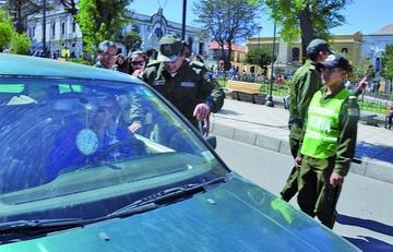 Tránsito atiende 26 casos de infracciones en dos horas de control policial