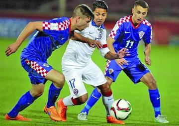 Chile empata en el Mundial Sub 17
