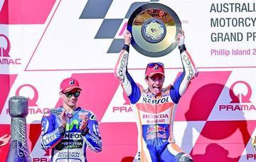 El español Marc Márquez se adjudica el GP de Australia